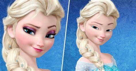 asi se ven las princesas disney sin maquillaje