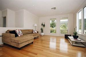 Spacious Lounge Decorating Ideas with Wood Floor