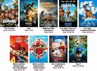 Summer Movies Film Fun Cinemas Series Tie