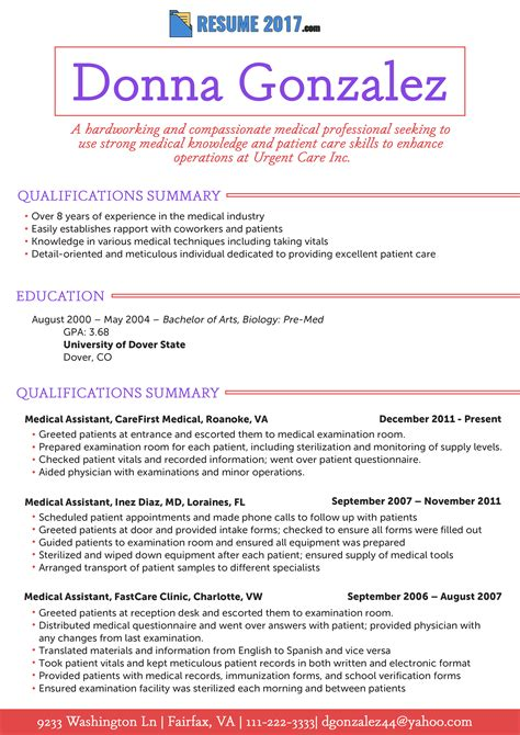 Pa Resume by Pa Resume 2018 Exle Bag The Web