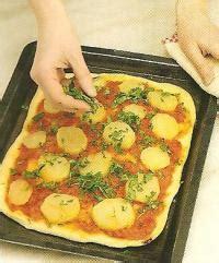 recette pizza la pomme de terre recette pizza la pomme de