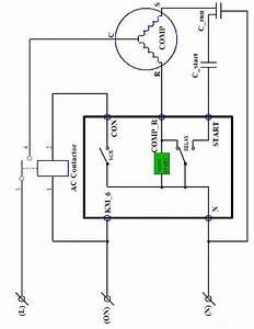 Hvac Contactor Wiring Diagram For Compressor