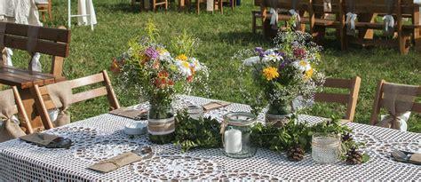 cozy rustic backyard wedding decoration ideas wedding