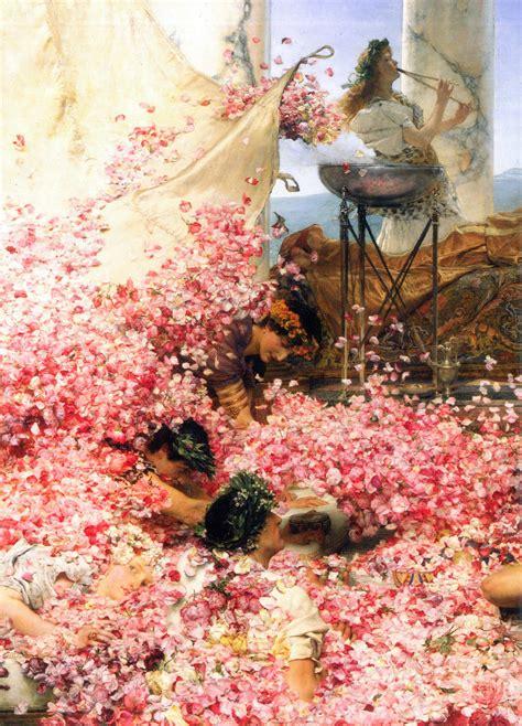 stampa le rose  eliogabalo su poster  quadri su misura