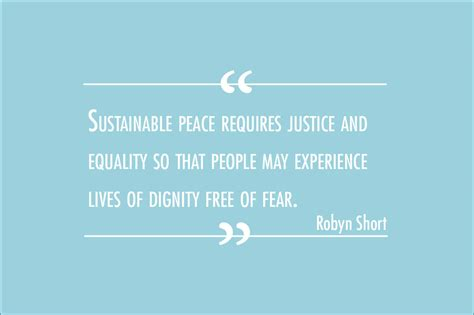 The Most Overlooked Criteria Of Sustainable Peace By Robyn Short