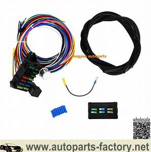 China Customized 12 Circuit Hot Rod Universal Wiring