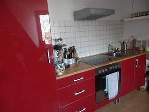Rote Ikea Küche : rote ikea faktum k che f r sebstabholer in d sseldorf k chenzeilen anbauk chen kaufen und ~ Markanthonyermac.com Haus und Dekorationen