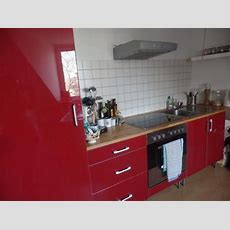 Rote Arbeitsplatte Küche  Haus Ideen