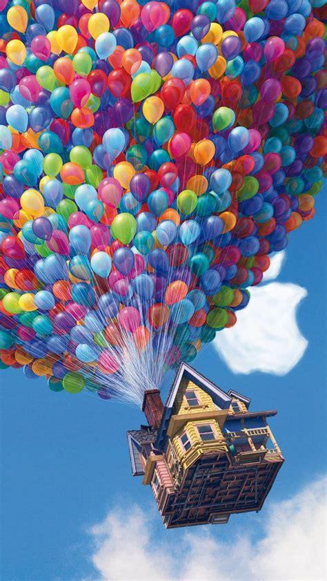 iPhone 5 Pixar UP wallpaper HD by LindsayCookie on