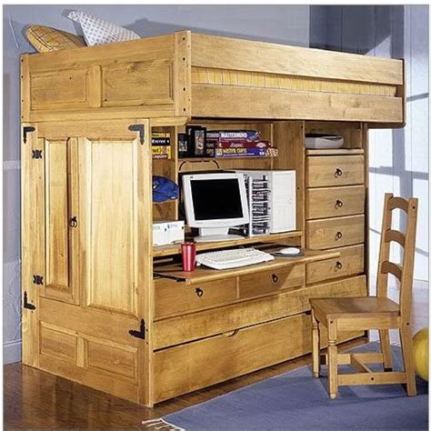 bed with desk and storage loft bed kids twin bunk bed with desk rustic bunk beds