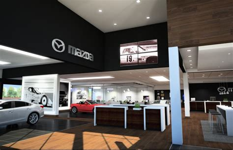 dealer mazda from cars to buildings mazda infuses dealerships with