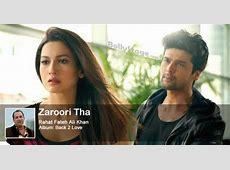 Zaroori Tha Lyrics Rahat Fateh Ali Khan [Back 2 Love