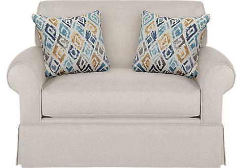 Provincetown Linen (off-white) Sleeper Chair