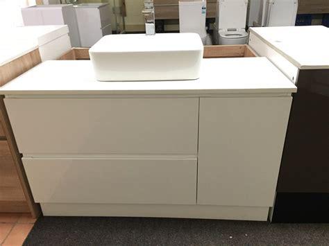 Shop For Vanity by Pearl 1200mm White Gloss Polyurethane Bathroom Vanity