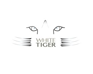 white tiger designed  whitepeacockgraphics brandcrowd