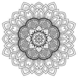 Color Therapy Stress Relief Coloring Pages
