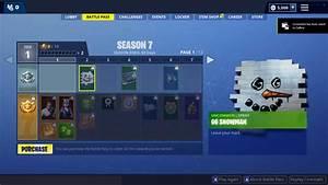 Season 7 Battle Pass Fortnite39s New Skins Emotes Wraps