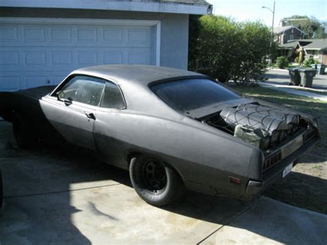 Drives 1970 Ford Torino 2dr 70's Mad Max Rat Rod Muscle As