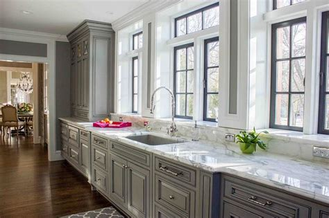 white raised panel kitchen cabinets gray raised panel kitchen cabinets design ideas