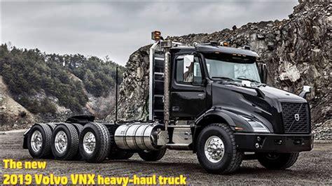 volvo vnx heavy haul truck youtube