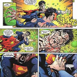 Superman prime and Superman Versus Darkseid and Orion ...