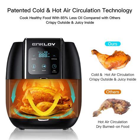 fryer air enklov dehydrator clean oven easy 1350w 5qt less fast oil xl fryers comparison