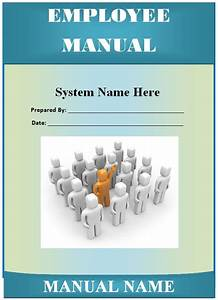 Employee Manual Template - Guide - Help