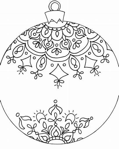 Coloring Adult Ornament Hgtv Holiday Pattern Diy