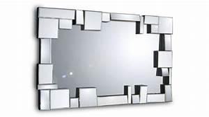 Miroir De Salon : belina un grand miroir mural au design moderne mobilier moss ~ Teatrodelosmanantiales.com Idées de Décoration