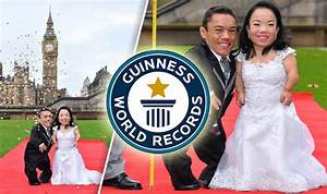 Guinness World Records Day: World's shortest married ...