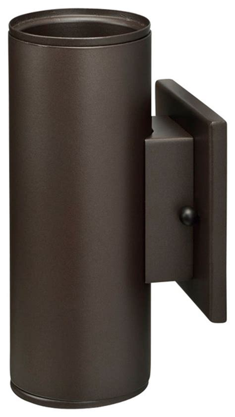outdoor up and down light fixtures led outdoor cylinder wall mount bronze up down light