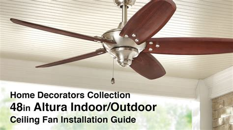 home decorators collection ceiling fan how to install 48 in altura ceiling fan by home 37473
