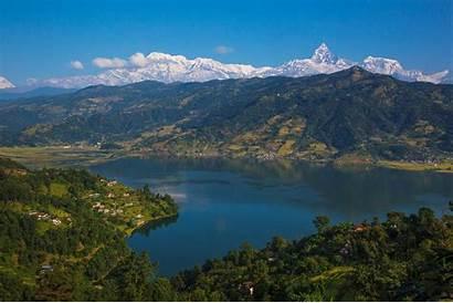 Pokhara Lake Phewa Wikimedia Commons Mb Pixels