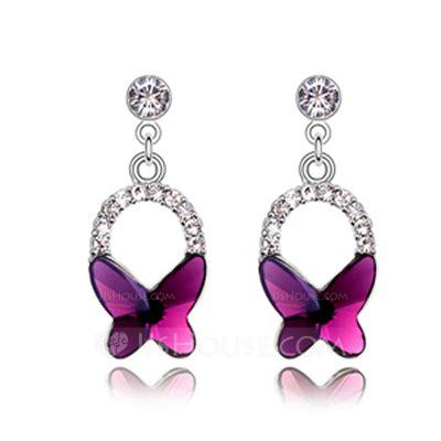 Butterfly Shaped Alloy Crystal Ladies' Fashion Earrings. Triple Diamond Earrings. Led Earrings. Love Heart Earrings. Organization Earrings. Copper Earrings. Black Person Earrings. Chalcedony Earrings. Wide Gold Earrings