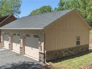 garage construction ideas pictures pictures of veneer siding on metal buildings