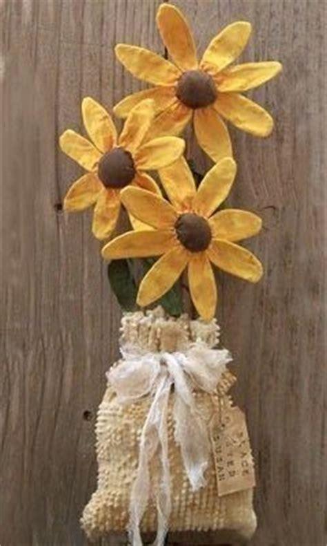 Best Primitive Flowers Images Pinterest Fabric