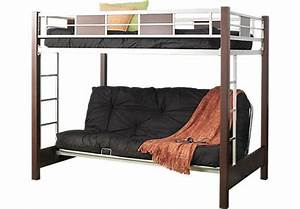 Ivy League Cherry 4 Pc Full Futon Loft Bed    499 99  79l