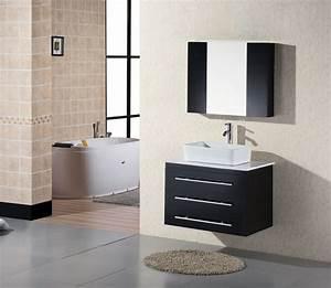 Adorna 30quot Wall Mounted Bathroom Vanity