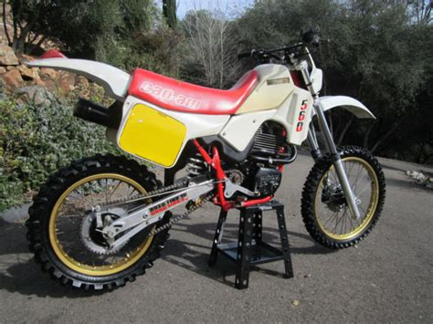 can am motocross bikes vintage can am sonic 560 ultra rare enduro motocross