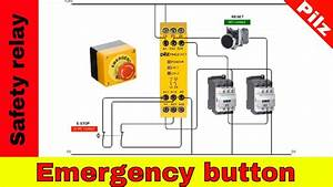 Wiring Safety Relay Pilz Pnoz And Emergency Stop Button