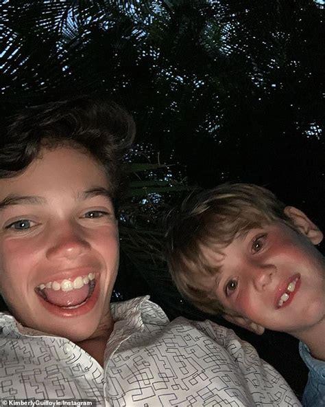 guilfoyle kimberly jr ronan villency trump anthony shares eric husband donald ex son break lovely spring left tristan don selfie