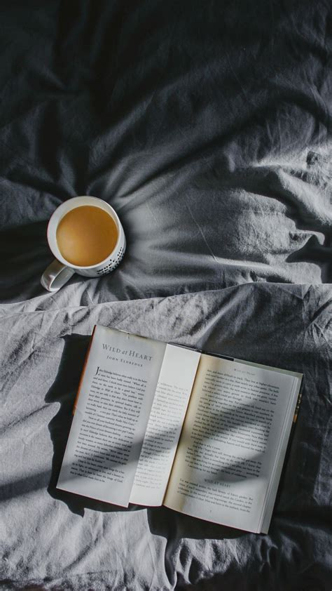 book coffee bed shadow wallpaper