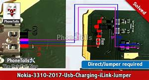 Nokia 3310-2017 Usb Charging Issue Jumper