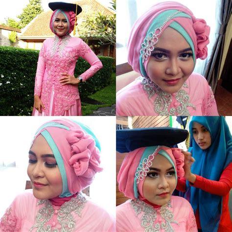 memakai hijab kebaya kutu  tutorial hijab