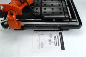 Husky Wet Tile Saw Thd950l by Husky Thd950l 7 Quot Tile Stone Wet Laser Saw W Stand Ebay