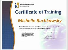 Certificate Download Training Certificate Training