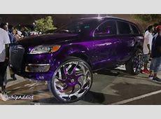 WhipAddict Kandy Purple Audi Q7 on 32