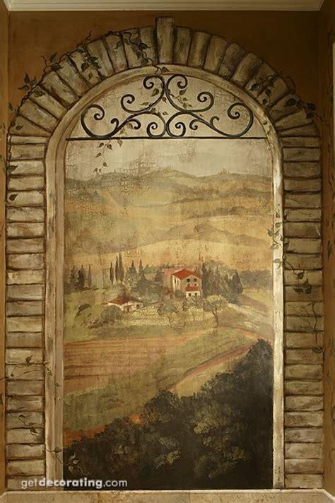 Tuscan Window  Murals & Stencils  Pinterest Photos