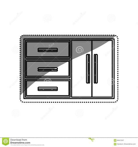 icon kitchen design kitchen cabinet design stock illustration image of tile 1762