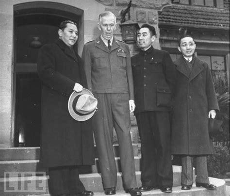 general chang chun general george  marshall